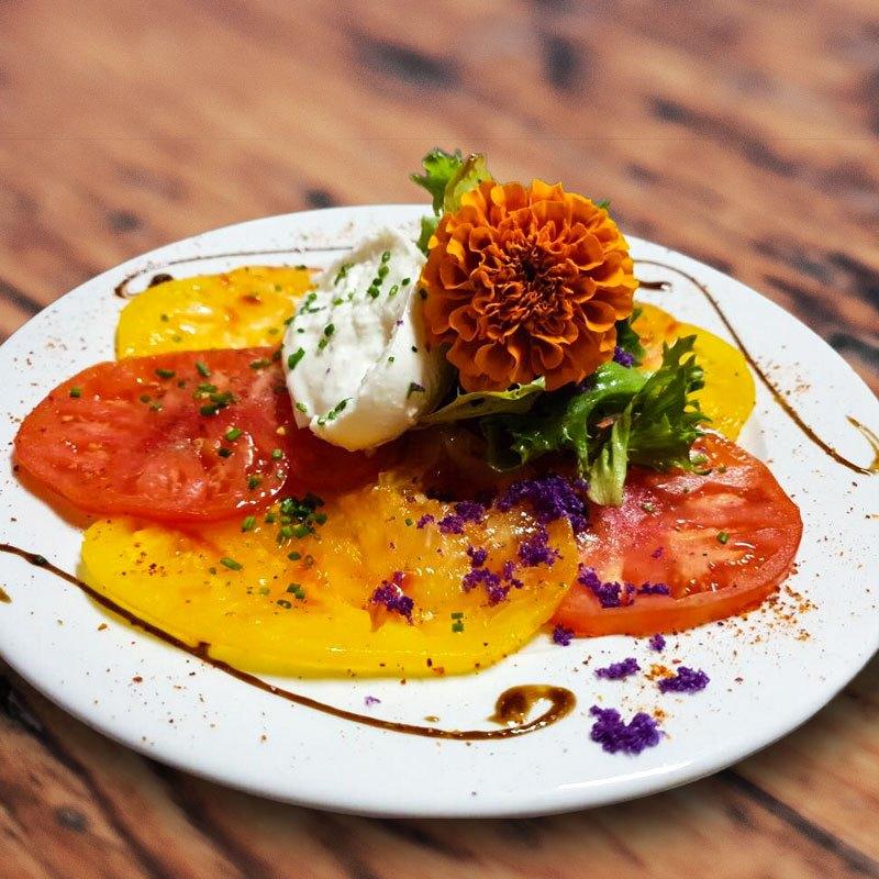 cuisine du terroir avec des produits frais restaurant La Ferme Ô Délices