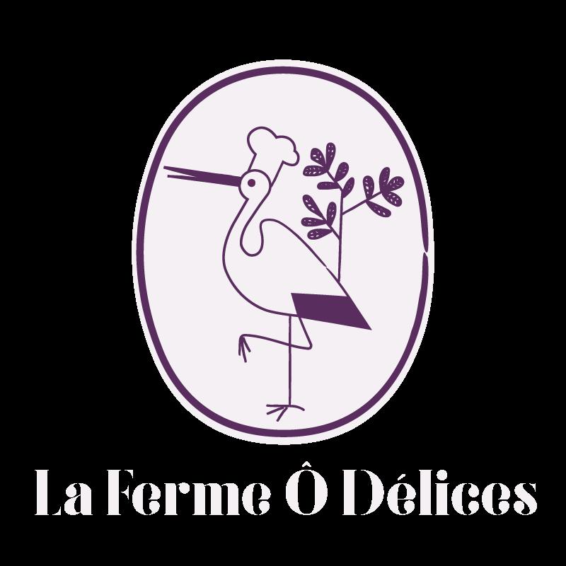 logo footer La Ferme Ô Délices